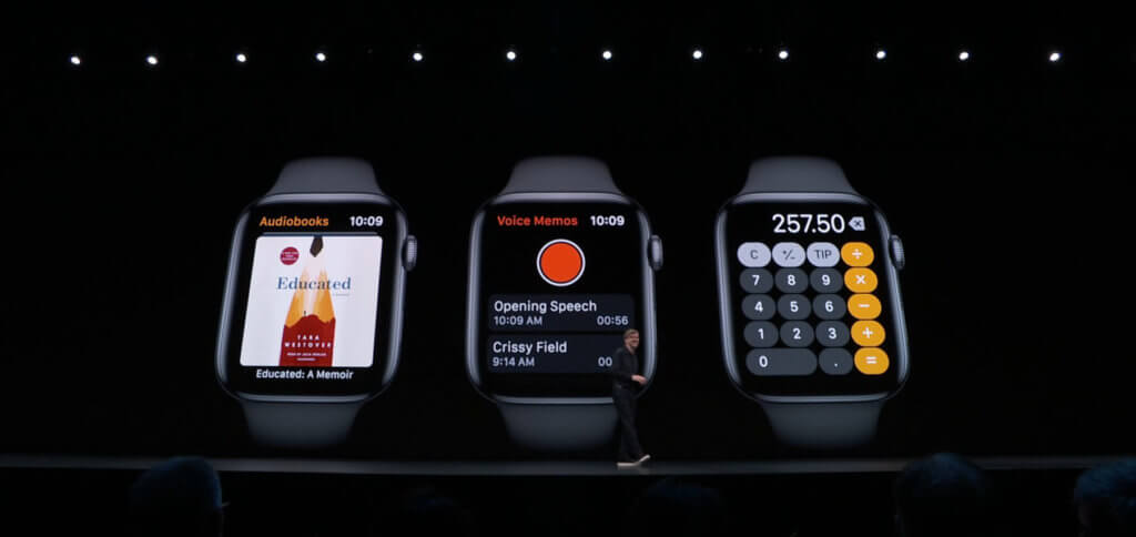 Neue native Apps für die Uhr aus Cupertino.