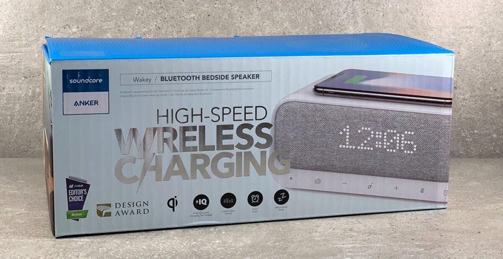 """Der Anker SoundCore Wakey möchte den Produktbereich """"Radiowecker"""" auf den neuesten, technischen Stand bringen (Fotos: Sir Apfelot)."""