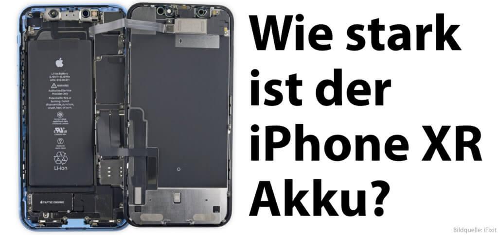 Die Apple iPhone XR Akku-Kapazität in mAh (Nennkapazität), V und Wh sowie weitere Informationen findet ihr hier.