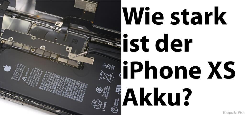 Die Apple iPhone XS Akku-Kapazität in mAh (Nennkapazität) sowie in V und Wh findet ihr hier. Dazu gibt's noch ein paar Informationen als Zusatz.
