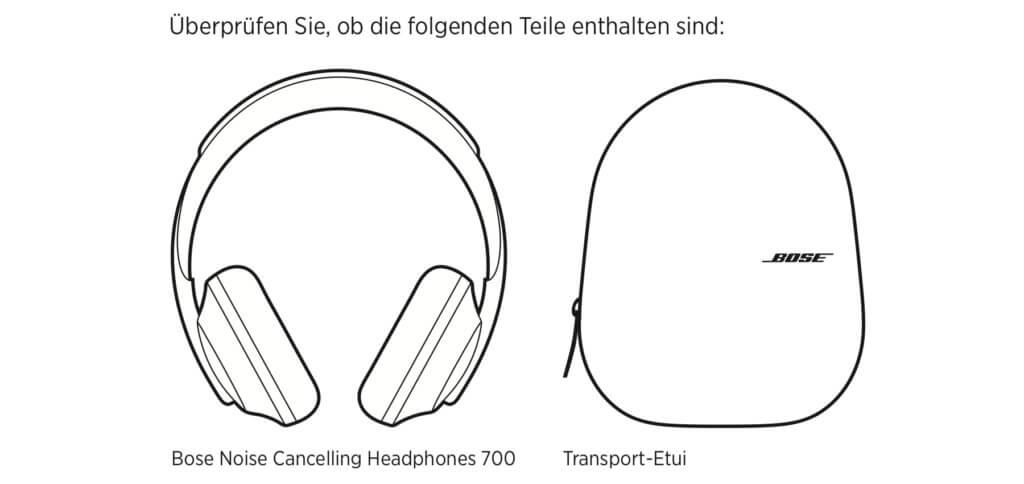 Alles da? Dann kann man ab dem 11. Juli 2019 mit dem neuen Bose-Modell Musik, Podcasts und Hörbücher genießen sowie störungsfrei Telefonate führen. Bose Headphones 700 Test