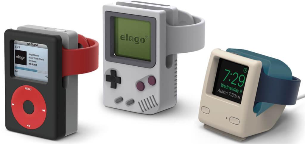 Die elago W Apple-Watch-Ständer als Ladestationen für die Smartwatch aus Cupertino. Im Folgenden findet ihr verschiedene Angebote. Das Ladegerät ist nicht enthalten, es muss das originale von Apple genutzt werden.
