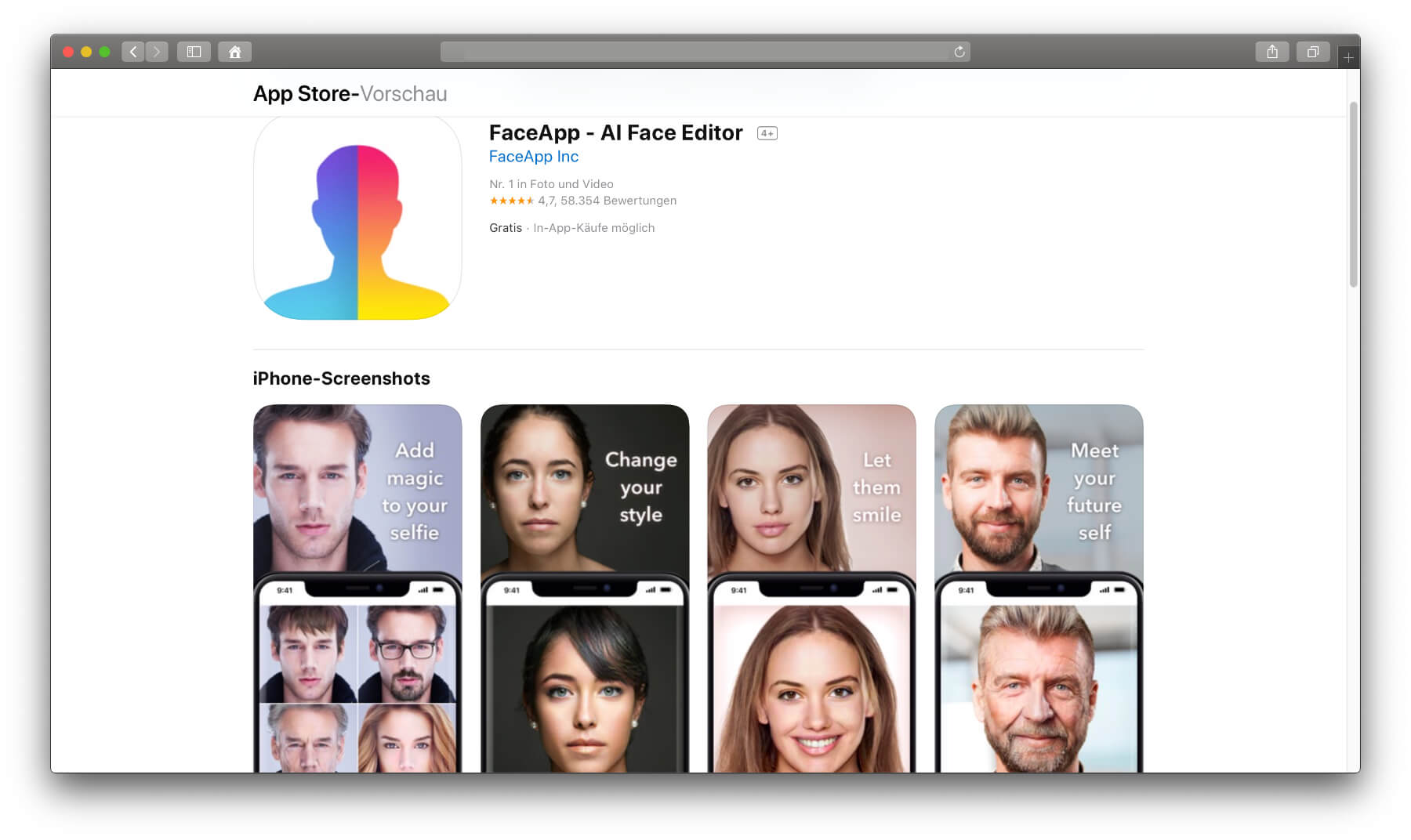 face app gratis