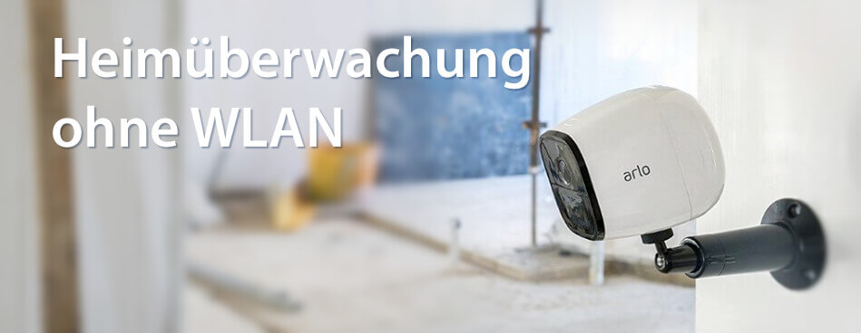 Mit der Arlo Go kann man selbst Wohnungen überwachen, in denen kein WLAN verfügbar ist. Das ist perfekt für Ferienhäuser und Privatwohnungen ohne Internetzugang (Foto: Arlo).