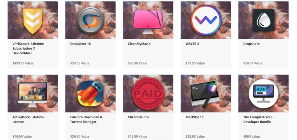 Das Mighty Mac Bundle von KOINGO Software enthält für $29,99 statt $1.814,61 neben CleanMyMac X, MacPilot 10 und VPNSecure weitere wertvolle Apps für den Mac.