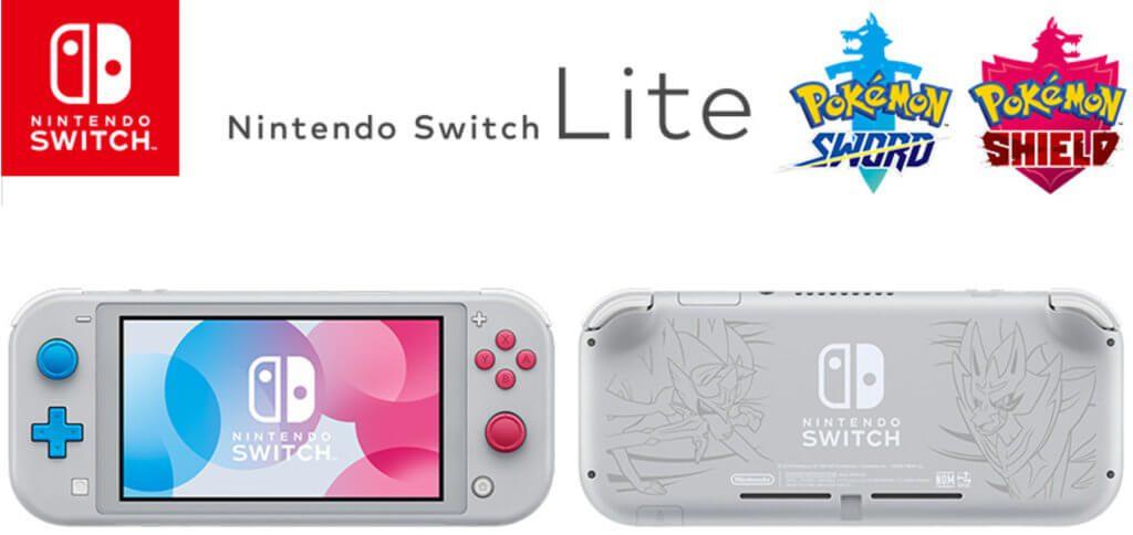 Für Pokémon-Fans die sich auf die neue Generation mit Schwert und Schild freuen, gibt es eine eigene Nintendo Switch Lite.