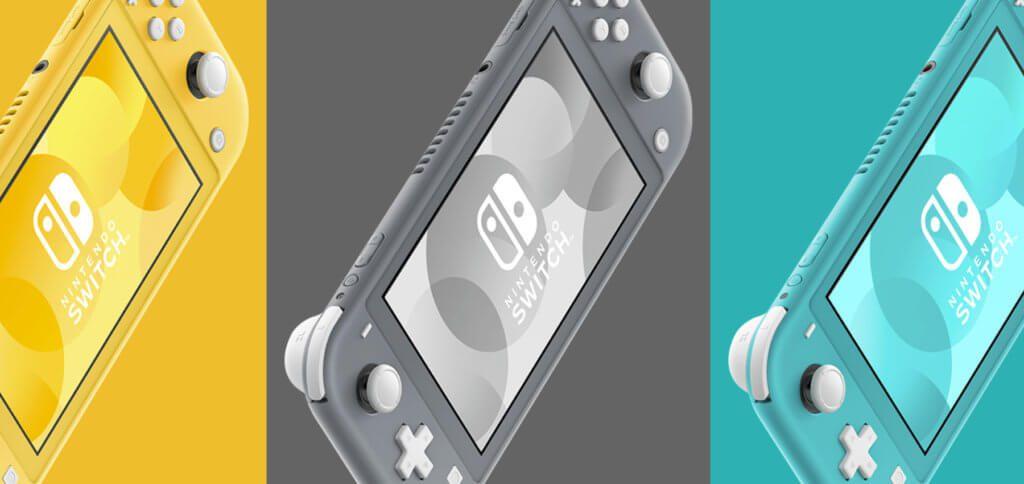 Die neue Nintendo Switch Lite kommt in Gelb, Grau und Türkis sowie in einer Pokémon-Version daher. Technische Daten, Preis und Einschätzung findet ihr hier. Bilderquelle: Nintendo