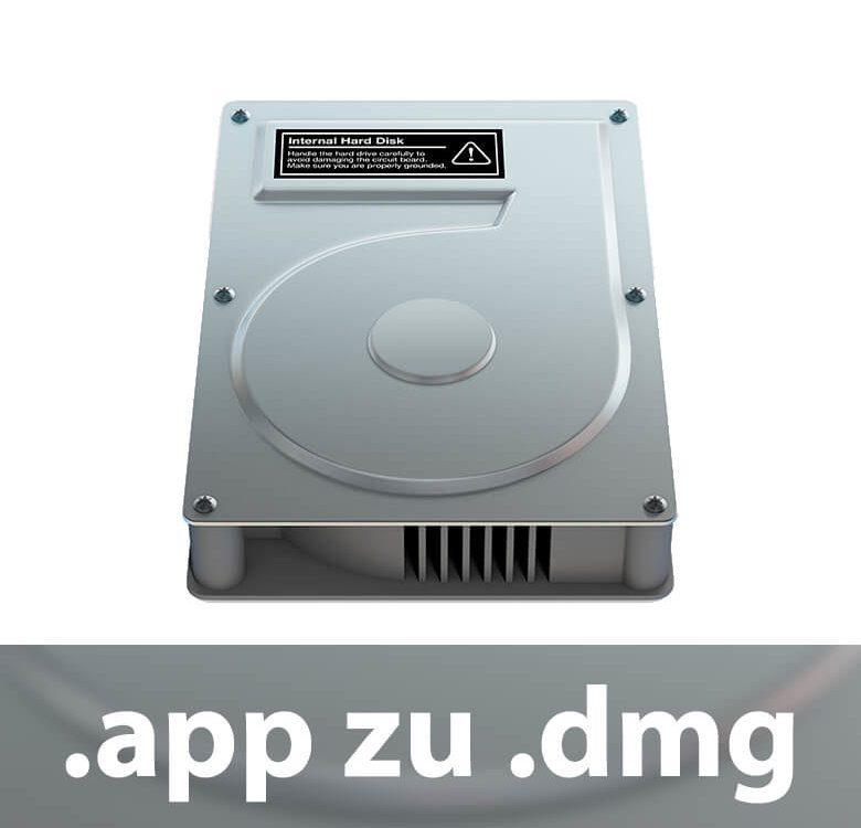 .app zu .dmg umwandeln
