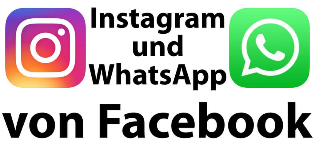 Instagram von Facebook und WhatsApp von Facebook – mit der namentlichen Anpassung werden intern die Machtverhältnisse zementiert. Nutzer/innen sehen aber nun besser, wem sie ihre Daten anvertrauen.