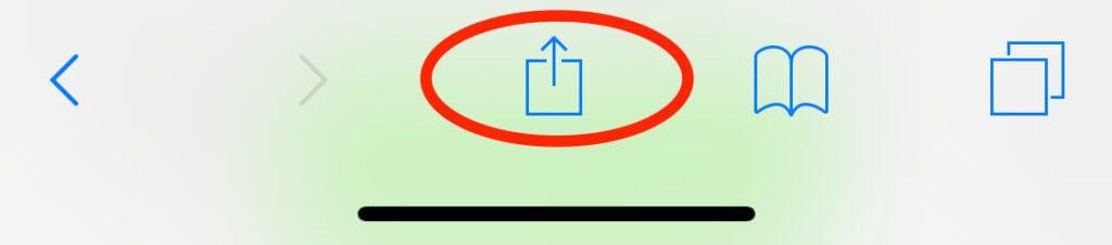 Das Share-Sheet findet man nicht nur in Safari am iPhone sondern an vielen anderen Stellen von iOS.