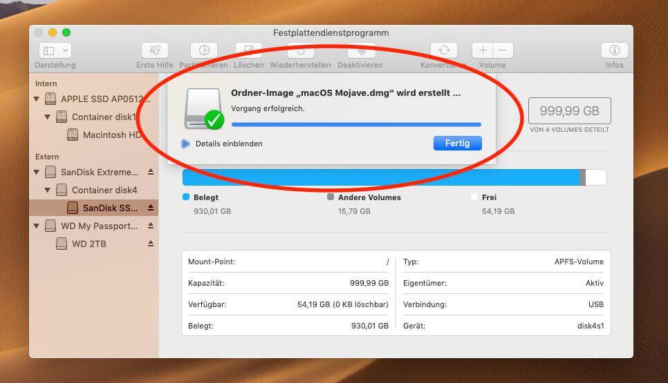 Anleitung: Am Mac aus einer  app-Datei eine  dmg erstellen