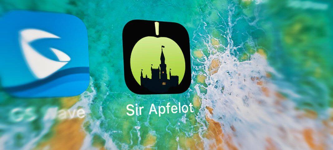 Aus der Sir-Apfelot-Webseite eine App auf dem Home-Screen machen? Das geht ganz einfach mit dieser Anleitung.