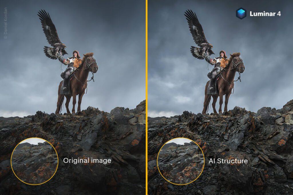 Noch ein Beispiel-Foto, das zeigt, was Skylum Luminar 4 mit AI Structure alles können wird. Die Software für Fotobearbeitung auf Mac und PC kommt im Herbst 2019 heraus.