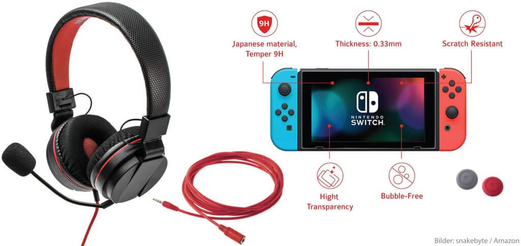 Das snakebyte GAMER:KIT S Sound & Protect ist nicht nur für Fortnite-Spieler/innen sinnvoll. Schutz, Headset und Kabel können von allen an der Konsole genutzt werden.