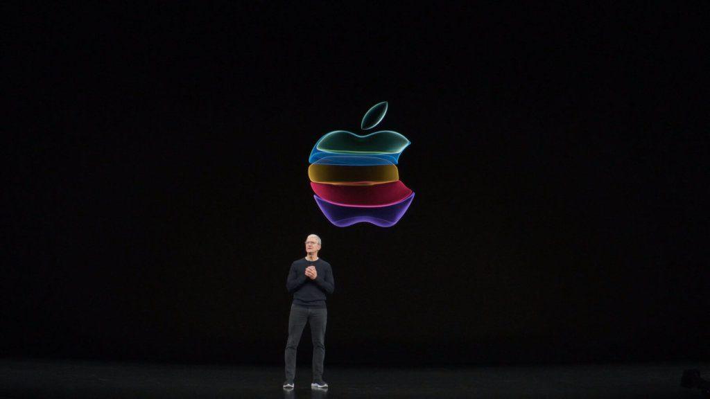 Natürlich eröffnete Tim Cook das Apple Special Event am 10. September 2019 im Steve Jobs Theater.