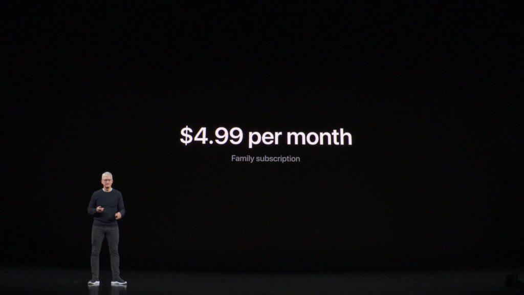 Das Streaming-Abo für iPhone, iPad, Mac, Apple TV und so weiter ist vergleichsweise günstig.