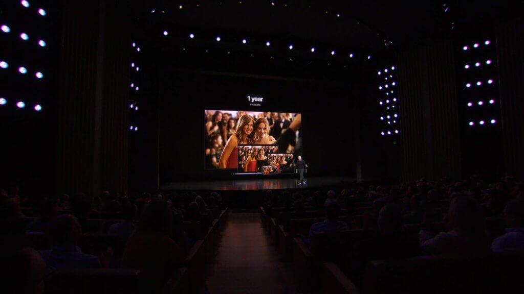 Ein Jahr kostenlos ist Apple tv+, wenn man sich ein neues Apple-Gerät, mit dem der Dienst kompatibel ist, kauft.