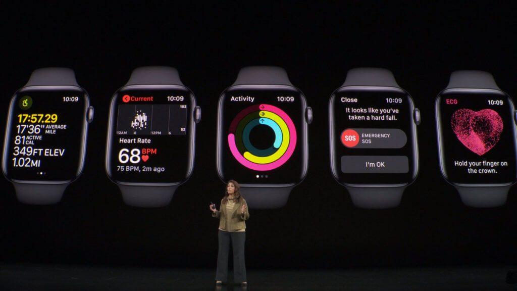 Die Apple Watch ist für den Hersteller u. a. mit Fitness und Gesundheit verbunden.