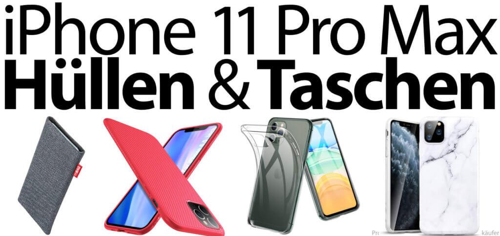 Die beste iPhone 11 Pro Max Hülle oder Tasche findet ihr eventuell hier. Auch ein umfangreiches iPhone Case mit Klapp-Ständer und Displayschutz ist mit dabei.