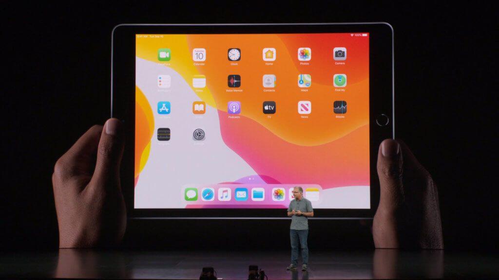Beim Apple Special Event am 10. September 2019 war das Tablet das einzige neue Gerät neben den zu erwartenden iPhone 11 / Pro / Pro Max und der Apple Watch Series 5.