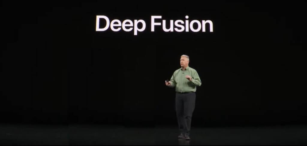 """Mit dem Feature """"Deep Fusion"""" rechnet das iPHone 11 Pro aus neun Einzelbildern eine große 24 MP Aufnahme zusammen."""
