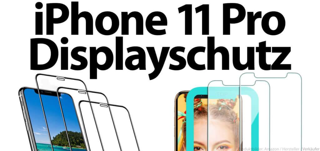 Ihr sucht einen Apple iPhone 11 Pro Panzerglas-Displayschutz mit 9H-Glas? Hier findet ihr die Amazon-Bestseller für euren Smartphone-Bildschirm.