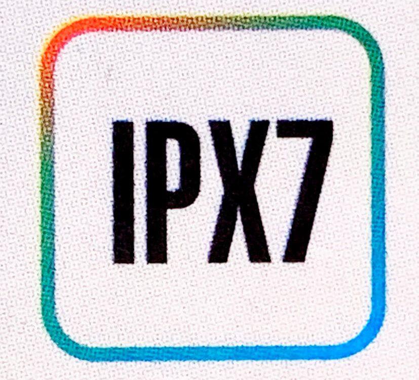 Hersteller weisen auf den Verpackungen oft auf die IPX-Wasserschutzkategorie hin (Foto: Sir Apfelot).