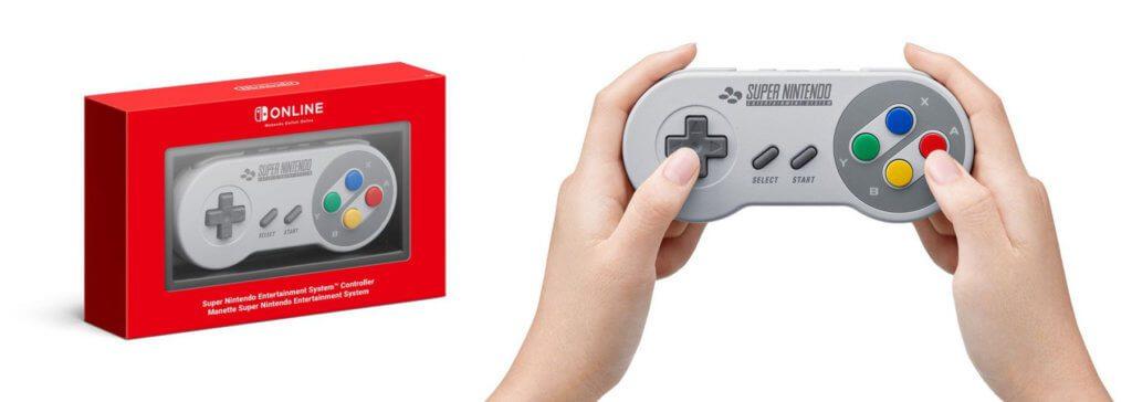 Noch ist der SNES-Controller für die Nintendo Switch nicht erhältlich; er sollte aber bald für 29,99 € über die Nintendo-Webseite zur Verfügung stehen.