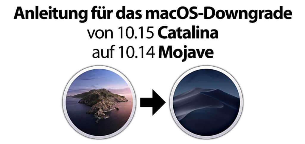 Hier findet ihr die Anleitung für das macOS-Downgrade von 10.15 Catalina auf 10.14 Mojave.