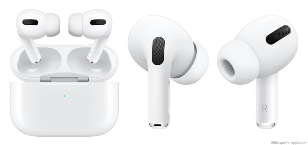 Was haltet ihr von den Apple AirPods Pro, die mit Ladecase-Nutzung über 24 Stunden laufen sollen?