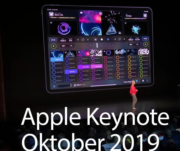 Apple Keynote Oktober 2019
