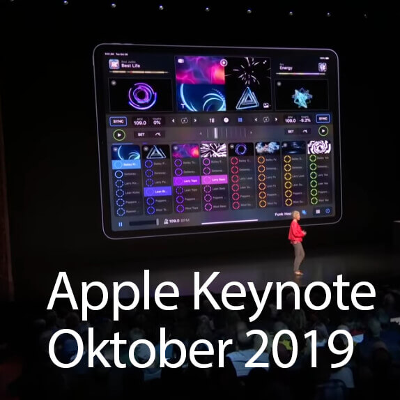 Apple Keynote Oktober 2019