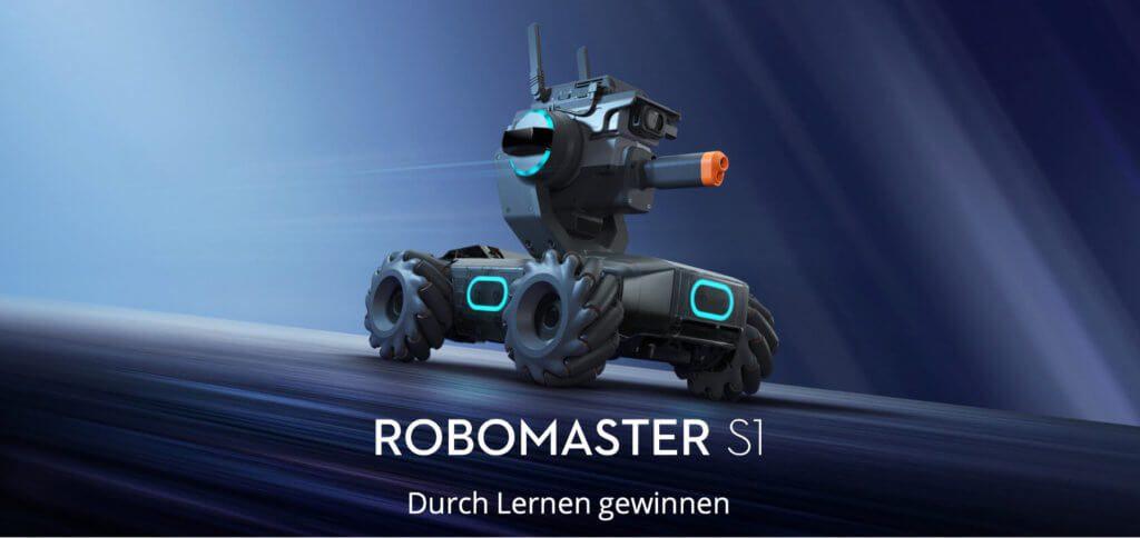 Der DJI RoboMaster S1 Roboter ist ein STEM Toy zum Programmieren lernen und Spaß haben. Robust und mit vielen modernen Features ausgestattet, ist er der Programmier-Einstieg für Kinder, Jugendliche und Erwachsene.