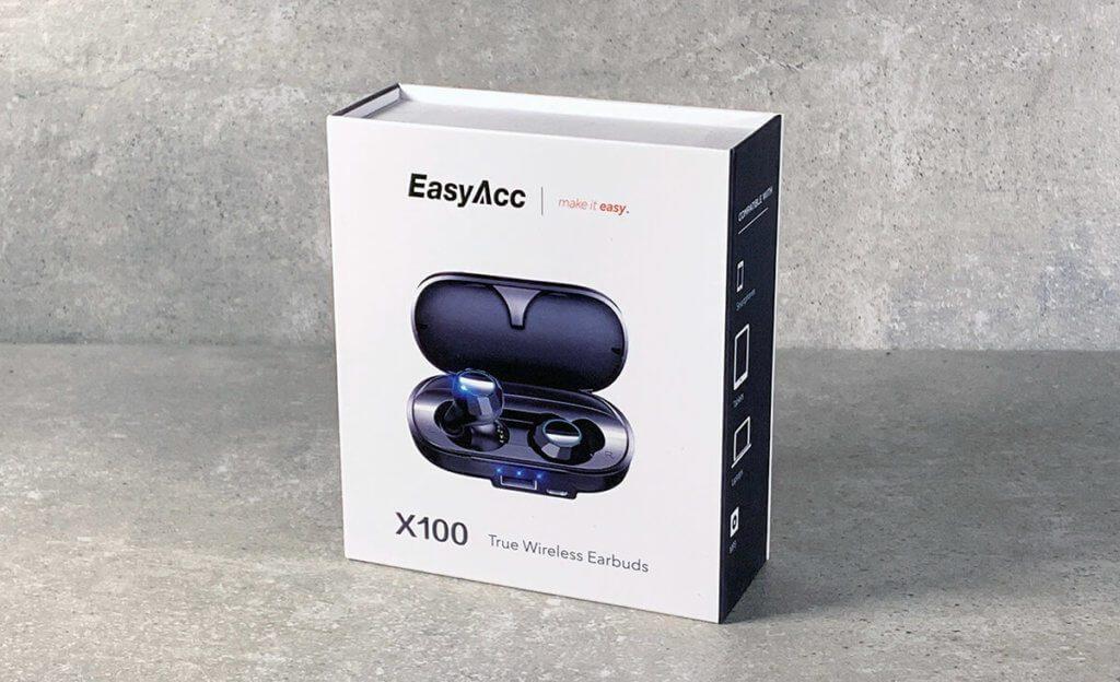 Die EasyAcc X100 kommen in einer netten Verpackung mit Magnetverschluss (Foto: Sir Apfelot).
