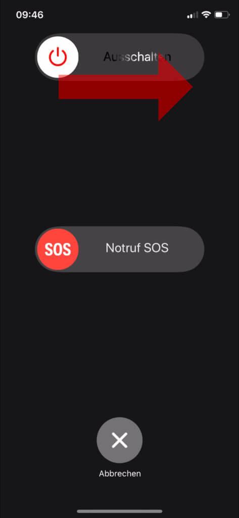 Das Apple iPhone 11 (Pro/Pro Max) ausschalten und herunterfahren könnt ihr, indem ihr die Tastenkombination Seitentaste+Lautstärketaste für ein paar Momente nutzt.