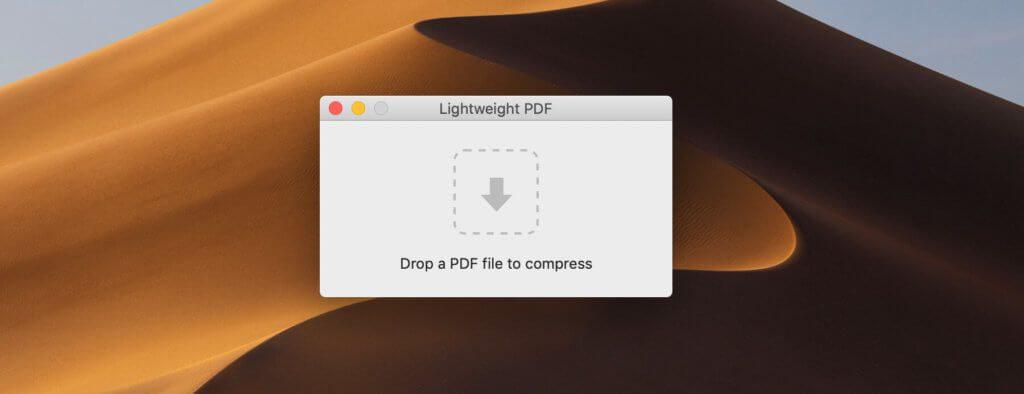 Per Drag and Drop zieht man die PDF-Dateien in das Programm, das sofort nach dem Loslassen des Mausbuttons mit der Arbeit beginnt.