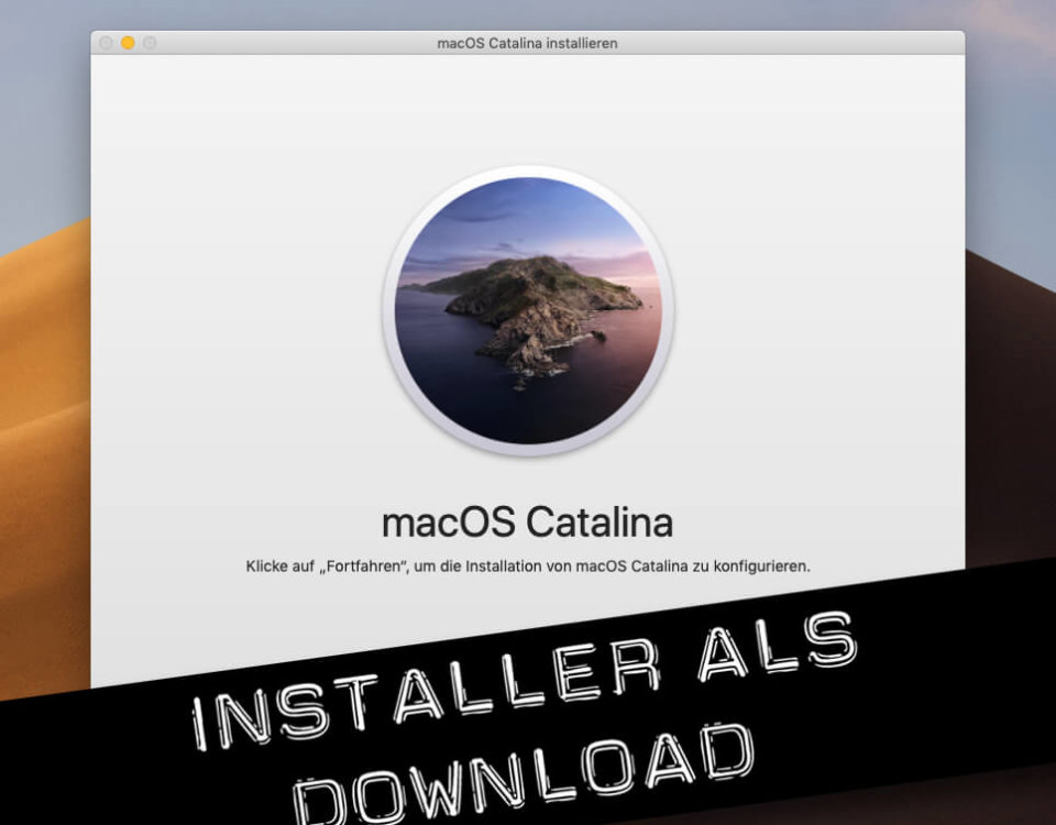 macOS Catalina Download und in DMG wandeln