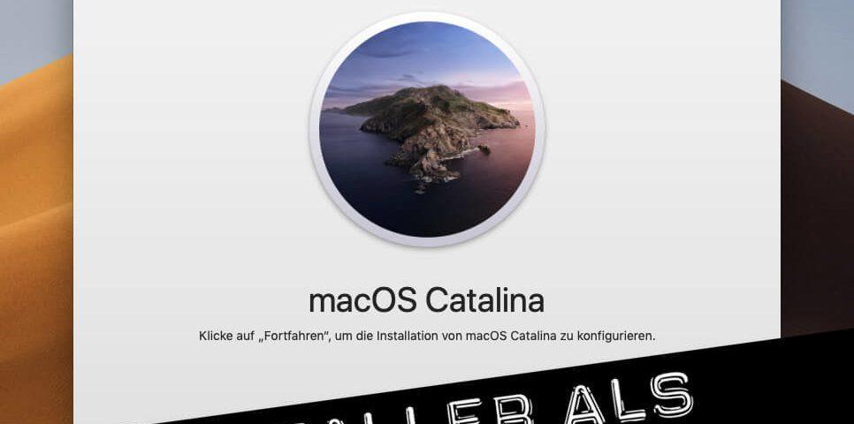 macOS Catalina Download und in DMG wandeln
