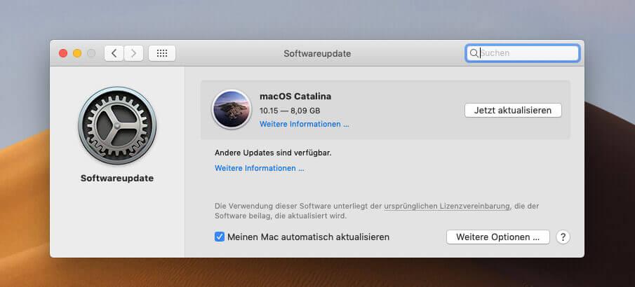 Das neue Betriebssystem von Apple steht zum Download: macOS Catalina 10.15 sollte man aber nicht unbedacht installieren.