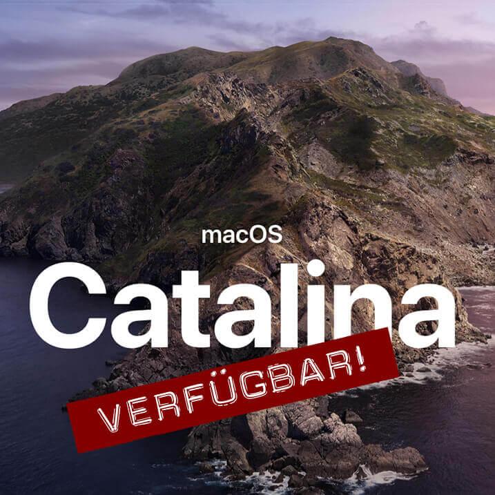 macOS Catalina ist nun als kostenloser Download verfügbar