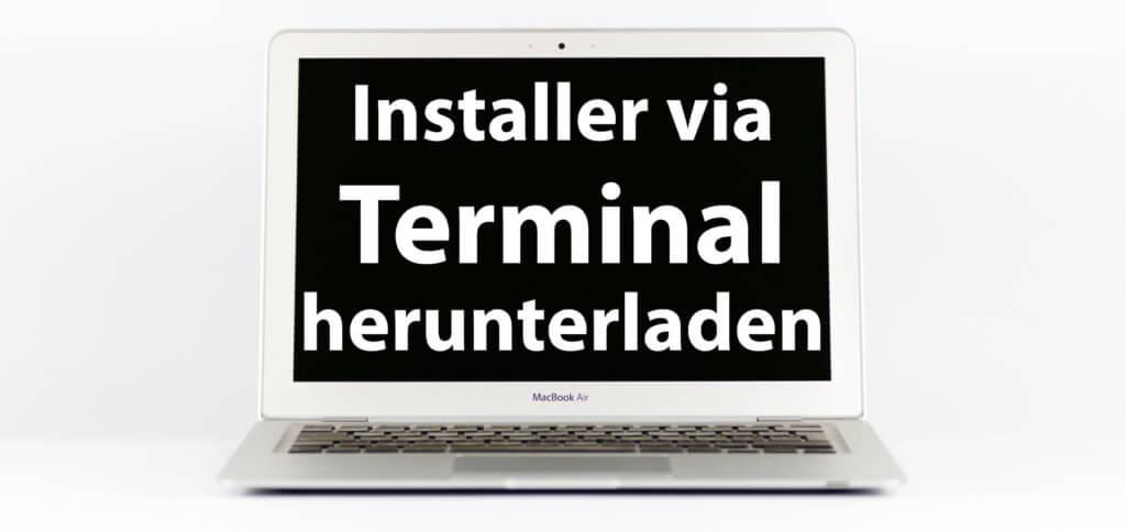 Mit dem Terminal alte macOS-Installer Dateien laden – das geht unter macOS 10.15 Catalina ganz einfach. Hier findet ihr den Befehl und die nötigen Versionsnummern.