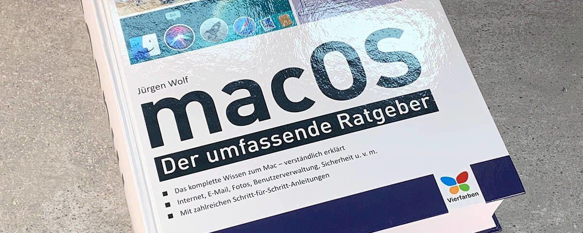 Jürgen Wolf: macOS – Der umfassende Ratgeber.