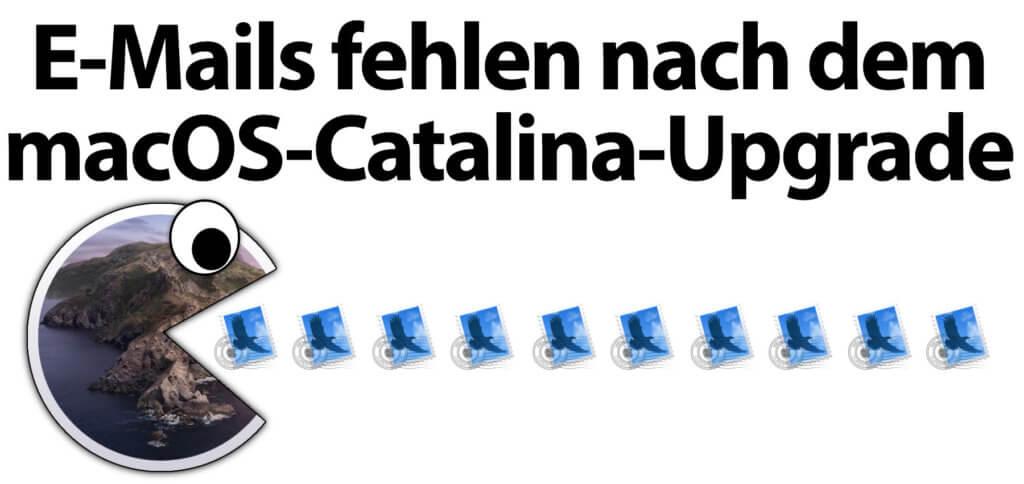 Catalina-Problem: Mail kann E-Mails und Daten beim macOS-Upgrade verlieren. Falls bei euch dieser Fehler in macOS 10.15 auftritt, findet ihr weiter unten ein paar Lösungsansätze.