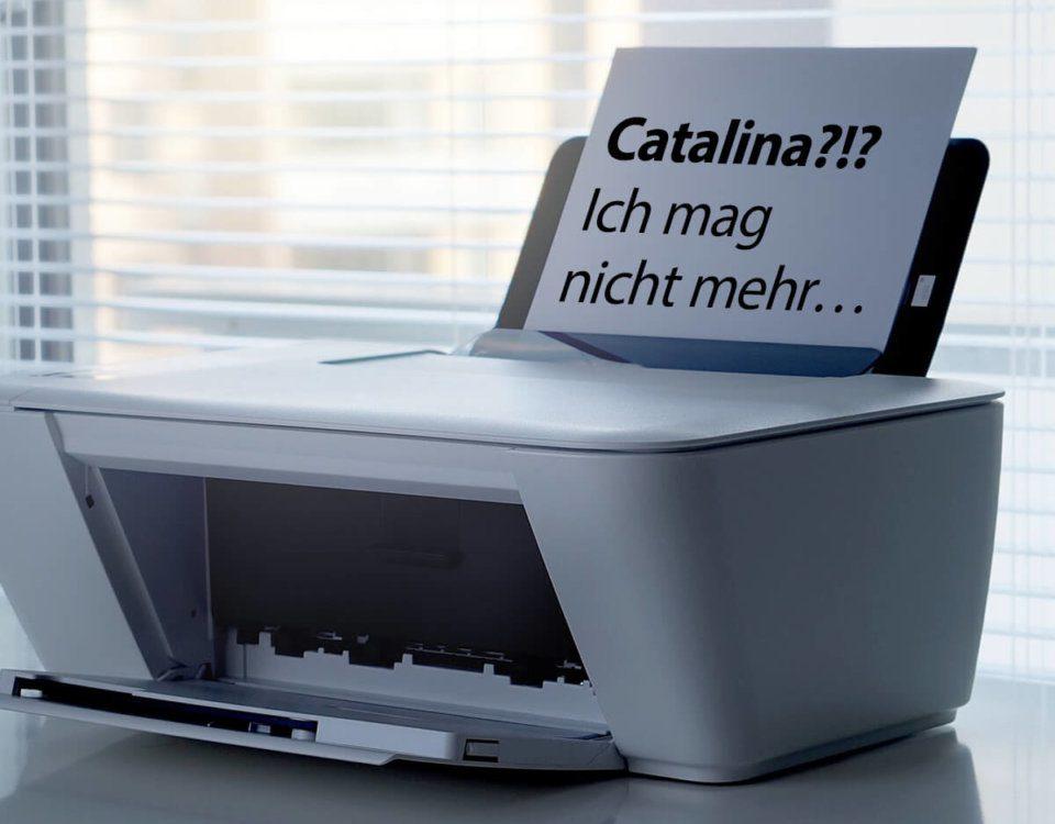 Scanner mag nicht mit macOS Catalina