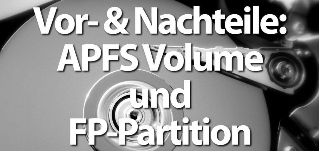 Es gibt einige Vorteile beim APFS Volume, aber auch Nachteile. Wenn ihr am Apple Mac eine Festplatten-Partition verwendet, könnt ihr z. B. Windows oder Linux installieren.