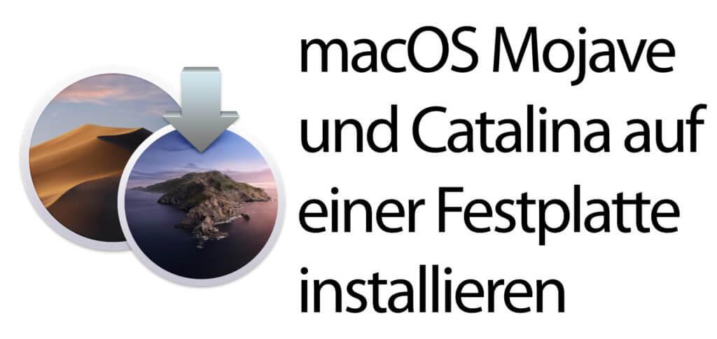 macOS Catalina ohne Partition parallel zu Mojave installieren? Das geht! Wie, das zeige ich euch in dieser Anleitung auf.