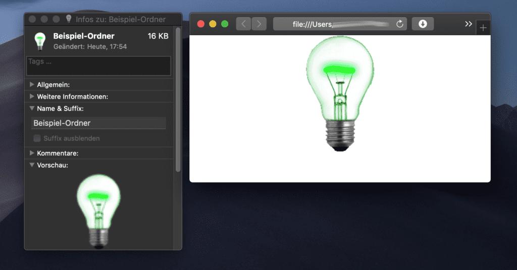 Es hat funktioniert! Ordnersymbol ändern am Mac: Ordner übernimmt Symbol nicht – was tun?