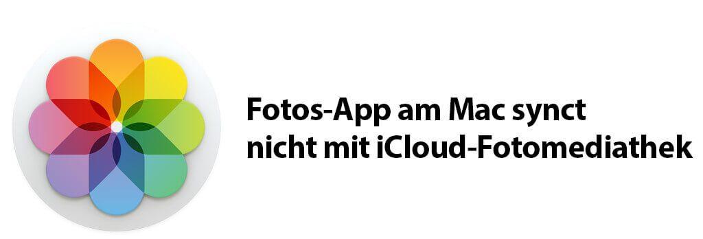 Wenn die Fotos-App am Mac keine Fotos mehr aus der iCloud empangen will, hilft vielleicht dieser Tipp.