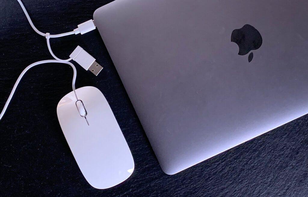 Kabelgebunden, aber gerade darum interessant für mich als Reisemaus – immer dabei in der Laptoptasche.