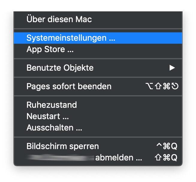 Apple Mac Siri-Befehl eintippen statt zu sprechen